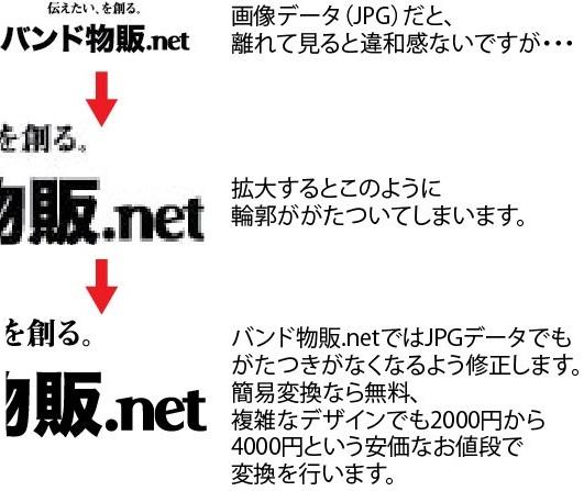 バンド物販.netはデザインも安い!